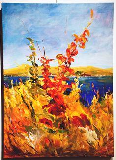 Rincón Silvestre - $ 3000.- Acrílico 50 x 70 cm ANNELIE SCHULZ