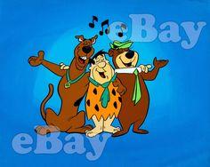 Yogi Bear Cindy Bear And Boo Boo At The Picnic