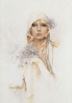 Sara Moon - the artwork that made the cross stitch | Cross Stitching