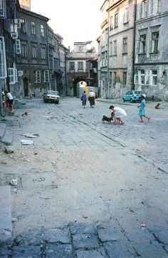 Central Lublin, Poland: claimed to be the poorest region of the EU before Romania joined. Warsaw Old Town, University Of Oklahoma, My Kind Of Town, Krakow, Geography, Old Photos, Street View, Ancestry, Keychains