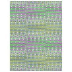 Fleece Blanket Colorful Zigzag pattern design #zazzle #blankets #decor #homedecor