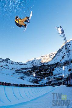 Danny Davis. PHOTO: Gabe LHeureux  | Wallpaper Wednesday: Your favorite riders favorite riders | TransWorld SNOWboarding
