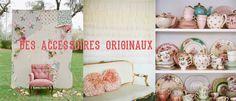 A quoi ressemblerai la fête d'anniversaire de Mademoiselle Claudine . Des accessoires originaux. Blog décoration.  Peach pink glitter party.