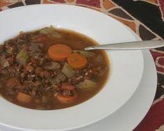 Lentil Soup Vincent