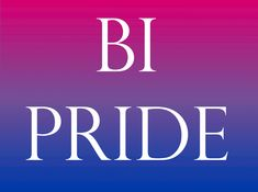 Hello my lovely people. I just wanted to say, Be proud of who you are and who you love. I am Bi, I have had many beautiful, wonderful girlfriends a swell as many handsome, wonderful boyfriends. Be you my dears and then you will find true happiness.