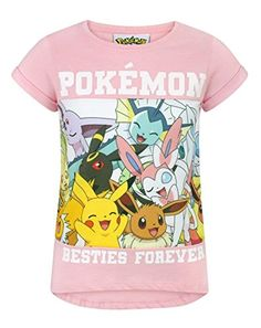 buy now   £10.99   Perfect for little Pokemon fans, this awesome Pokemon Besties Forever t-shirt is a fun addition to any little Pokemon trainers wardrobe! Offering something unique, this t-shirt boasts  ...Read More