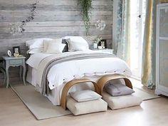 Wood Clad Bedroom Walls-25-1 Kindesign