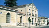 Asil-hospital. Edifici de principis de s. XX. Pedreguer