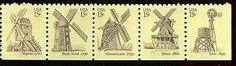 Stamp: Windmills (United States of America) (Windmills) Mi:US 1415-1419,Sn:US…