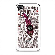 5 Seconds Of Summer Amnesia iPhone 4, 4s Case