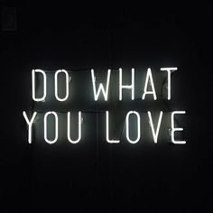 ...and do it with love.