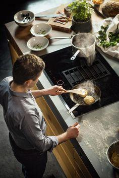 miele smartline kookelementen met werkbladafzuiging keuken pinterest met. Black Bedroom Furniture Sets. Home Design Ideas