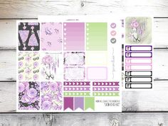Planner Stickers Weekly Spread  Boho Chic  Fits