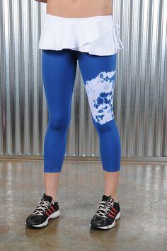 NWT NEW WOMENS DANSKIN NOW FITTED CAPRI LEGGINGS RUNNING YOGA FITNESS PANTS