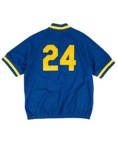 Mitchell & Ness Men's Ken Griffey Jr. Seattle Mariners Bp Mesh Jersey Top  - Blue M