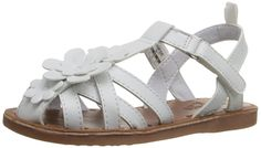 OshKosh B'Gosh Prudie-G Closed Toe Sandal (Toddler/Little Kid) >>> Discover this special product, click the image : Girls sandals
