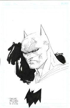 Batman sketch   Jim Lee
