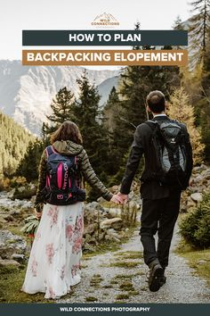 Advice from a Backpacking Elopement Photographer