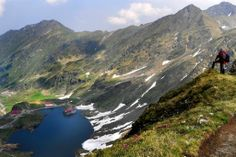 Balea lake is a glacier lake situated in Fagaras mountains (Southern Carpathians) in the heart of Romania, at an altitude of 2.000 meters (6.500 feet)
