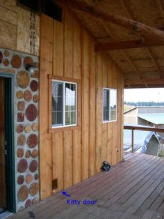 Board And Batten Siding Would Also Like Some Rock On The