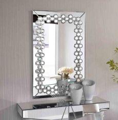 Espejos modernos de cristal modelo leila espejos for Espejos decorativos modernos