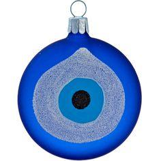 Evil Eye Ornament found on Polyvore