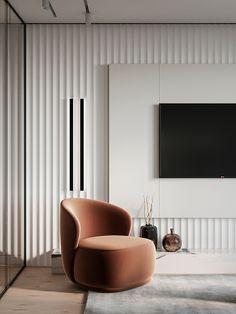 Home Room Design, Home Interior Design, Interior Architecture, Living Room Designs, Living Room Tv, Living Room Interior, Living Spaces, Bedroom Furniture Design, Loft