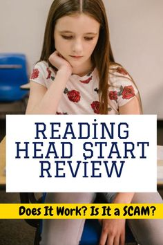 Reading Head Start Review - Does It Work? Is It a SCAM? The Reading Head Start program is a digital program that will help to improve your child's reading skills. Read our full review to see if it is worth it for your child! head start reviews from parents, reading head start vs hooked on phonics, head start reading program, reading head start review, reading head start program reviews, reading head start scam, reading head start sarah shepard, reading head start program free, Reading Practice, Reading Skills, Head Start Programs, Hooked On Phonics, Feeling Dizzy, Does It Work, Learning Process, Simple Way, Improve Yourself