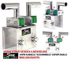 Mallisuojattu, suomessa suunniteltu innovatiivinen tuote, joka sopii lähes kaikkiin venemalleihin. Maahantuojan UUTUUS.