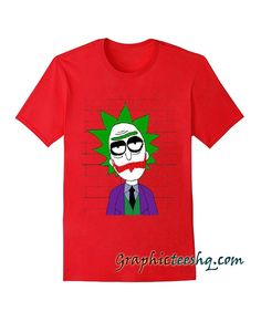 Rick Sanchez Joker Tee Shirt