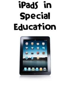 iPads in Special Education - great blog for all apps education