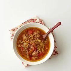 RU174783 Cabbage Stew, Cabbage Roll Soup, Cabbage Rolls, Vegetarian Gumbo, Slow Cooker Ground Beef, Rice Paper Rolls, Pork Stew, Dump Dinners, Lentil Stew