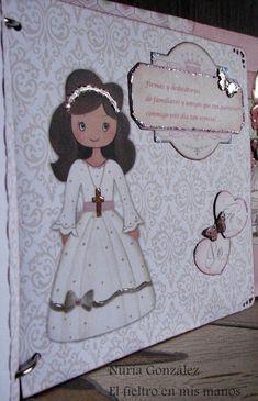EL FIELTRO EN MIS MANOS: Álbum de scrapbook para Claudia