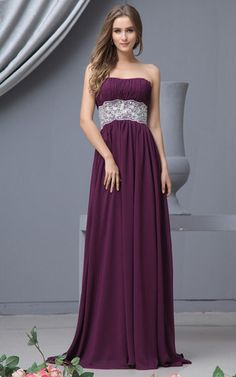 Perlenbesetztes natürliche Taile Spitze Elegantes Partykleid mit Applikation im Empire Stil
