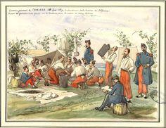 Au lendemain de la bataille de Solferino. Bivouac des grenadiers de la garde. 26 juin 1859. Journal de campagne de Charles Robert