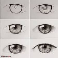 Image result for 3d eye draw