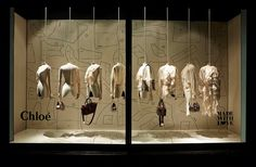 """Chloé presents: """"Made with Love""""at Harrods London, """"it's a French thing"""", pinned by Ton van der Veer"""