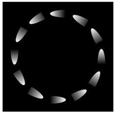 Akiyoshi Kitaoka - Rotating comets