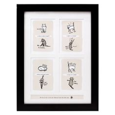 CAT TAO WALL ART | Framed Pet Animal Illustrations | UncommonGoods