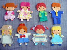 着せ替え5.jpg Origami And Kirigami, Paper Crafts Origami, Origami Cards, Fabric Origami, Oragami, Pliage Origami, Paper Artwork, 3d Paper Art, Paper Folding