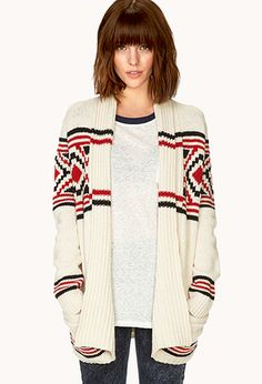 Borrowed-From-The-Boys Cardigan | FOREVER21 - 2031558306 buy this for me and I will love you forever :)