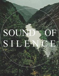 Sound of silence. Som do silêncio. Nature Quotes, Me Quotes, Family Quotes, Qoutes, Instagram Inspiration, Beau Message, Into The Wild, Solitude, Travel Quotes