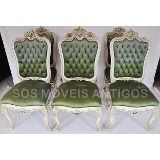 Conjunto De 6 Cadeiras Luís Xv Cód. 168