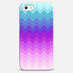 Pastel Ombre Chevron iPhone 5s case by Organic Saturation | Casetagram