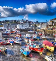 Mevagissey, Cornwall, England.