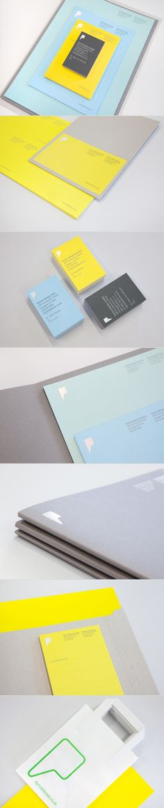 Patrick dental brand identity - on BP&O - Colour palette