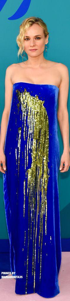 CFDA Awards 2017 Carpet Arrivals Diane Kruger in Monse