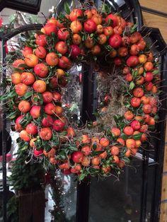 Crab apple wreath