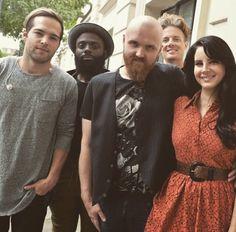 Lana and her band at BBC