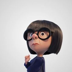 On Friday, one hero will rise. Disney Nerd, Arte Disney, Disney Magic, Disney Movies, Disney Pixar, Edna Mode, Character Design Cartoon, Character Design Animation, Mrs Incredible